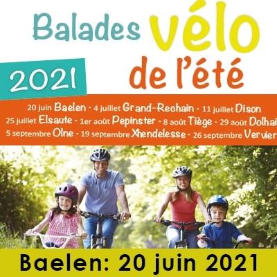 Balade à vélo et en famille le dimanche 20 juin 2021.