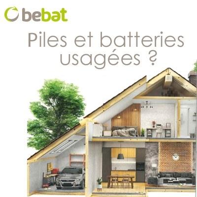 Piles et batteries usagées ?