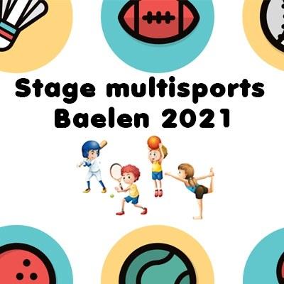 Stage multisports Baelen 2021