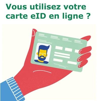 Vous utilisez votre carte eID en ligne?