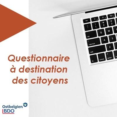 VSZ (association de défense des consommateurs) - Questionnaire à destination des citoyens