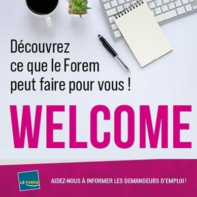 Welcome, plus qu'une séance d'information