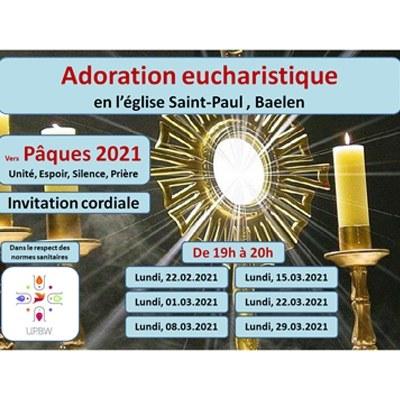 Adoration pendant le carême!