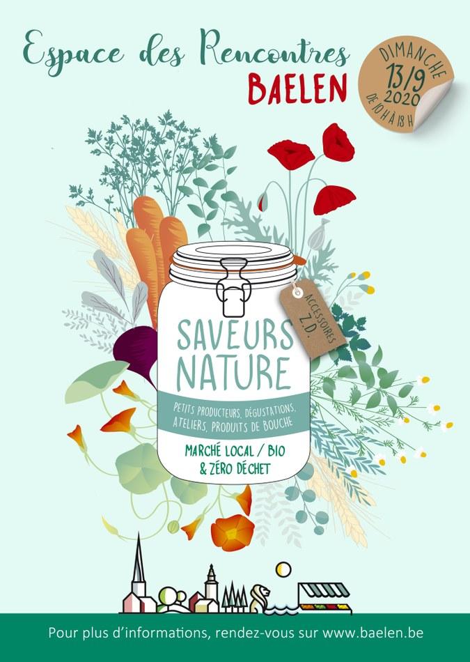 Affiche Saveurs nature 2020