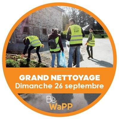 Grandes journées de nettoyage de nos villages le samedi 25 et le dimanche 26 septembre